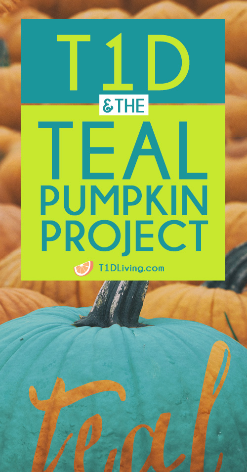 The Teal Pumpkin Project T1D Pinterest