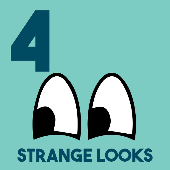 12 days of diabetes christmas - day 4 - four strange looks - diabetic christmas