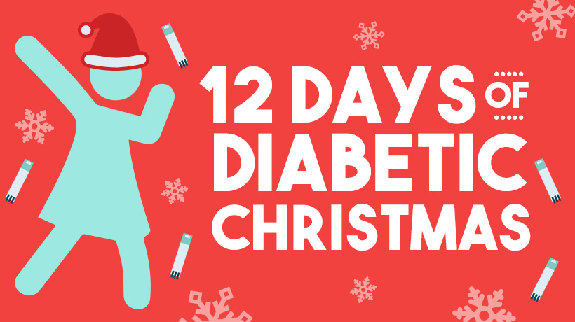 12 Days Of Christmas Song.The 12 Days Of Diabetic Christmas Song T1d Living