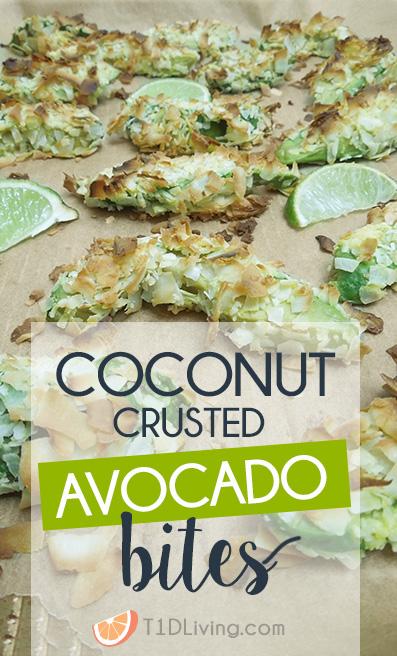 Pinterest Coconut Crusted Avocado Bites