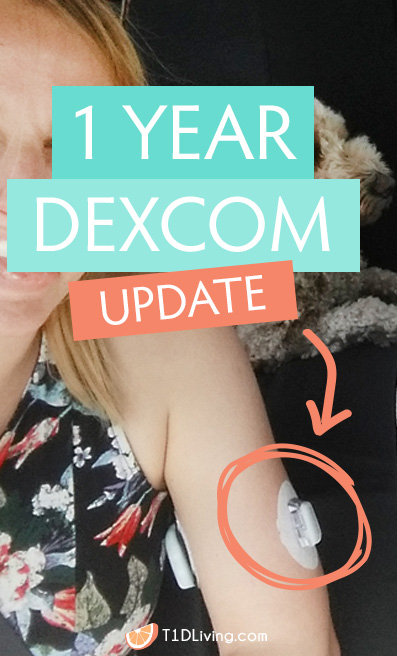 Dexcom Update T1D Living Pinterest