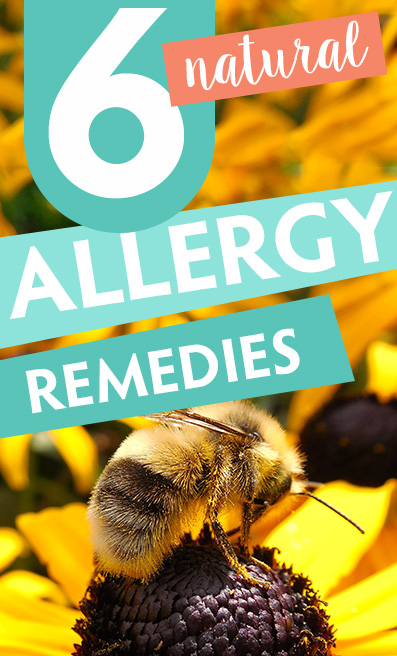 How To Heal Allergies Naturally with T1D pinterest