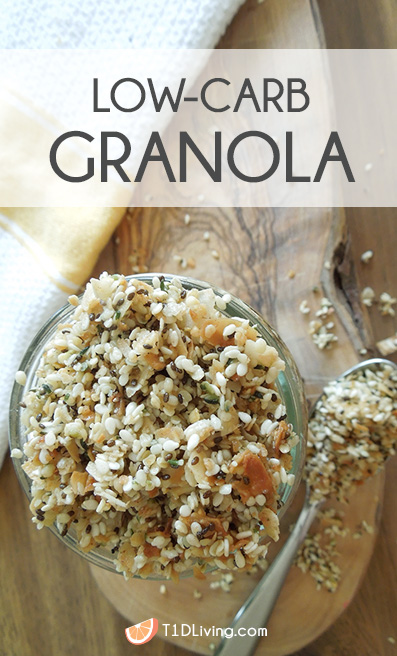 Low Carb Paleo Keto Granola Recipe