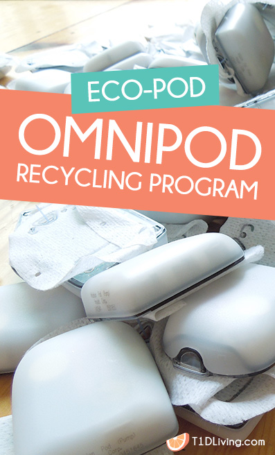 Omnipod recycling program type 1 diabetes pinterest