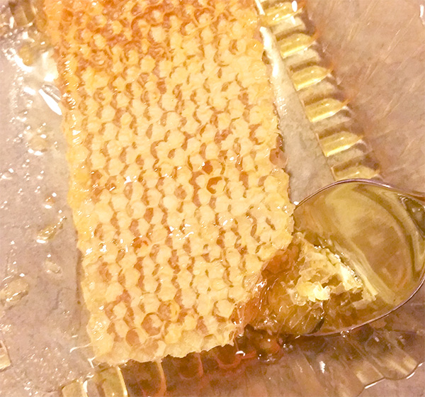 local honeycomb for allergies
