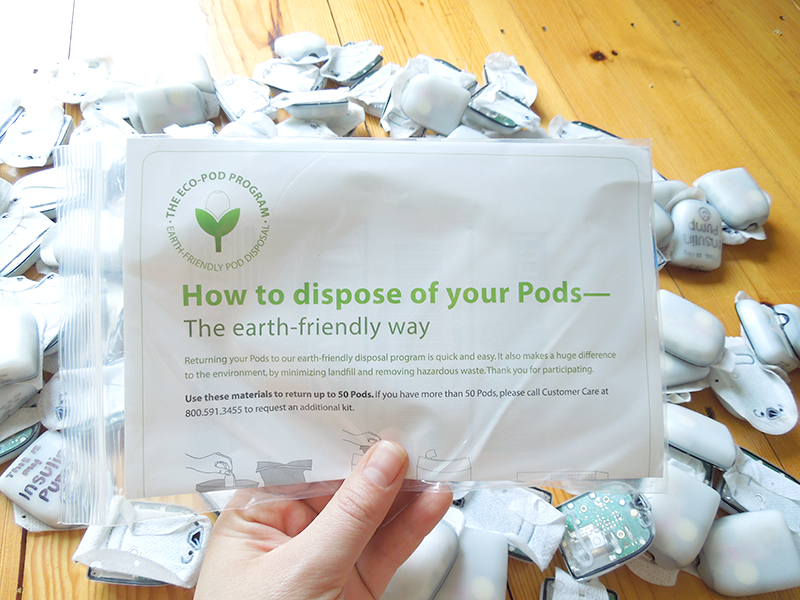 omnipod recycling program how to