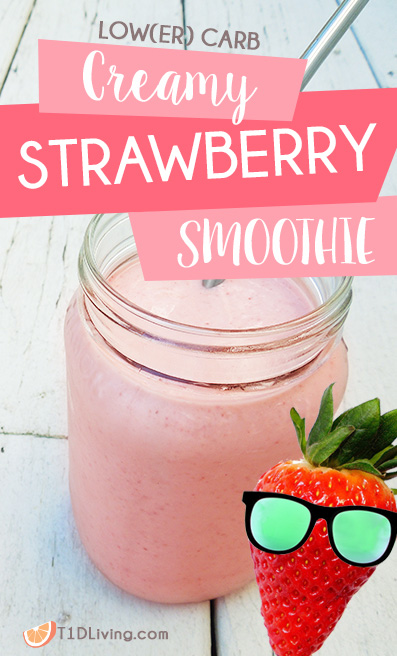 Creamy Strawberry Smoothie Recipe Pinterest
