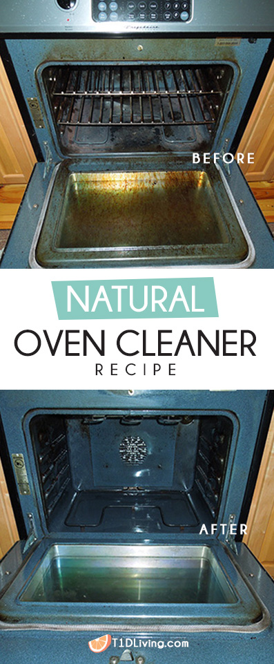 Natural Oven Cleaner Recipe Pinterest