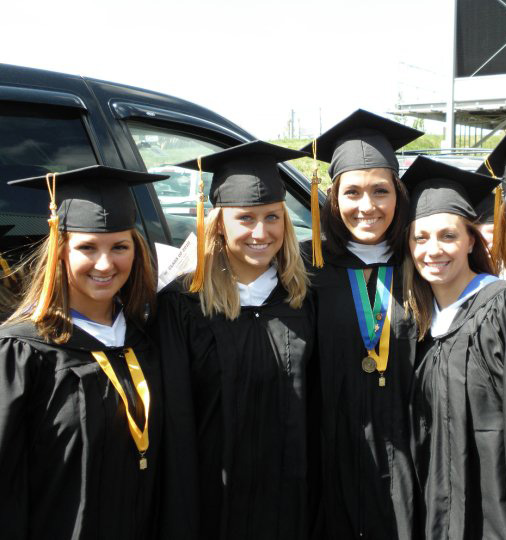 Rachels College Graduation