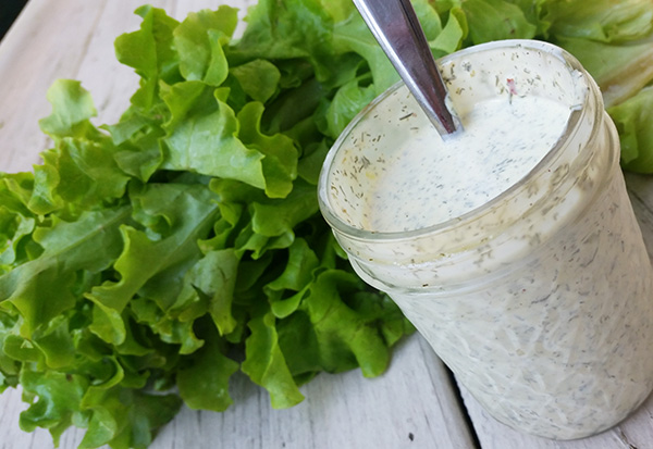 Paleo Ranch Dressing homemade