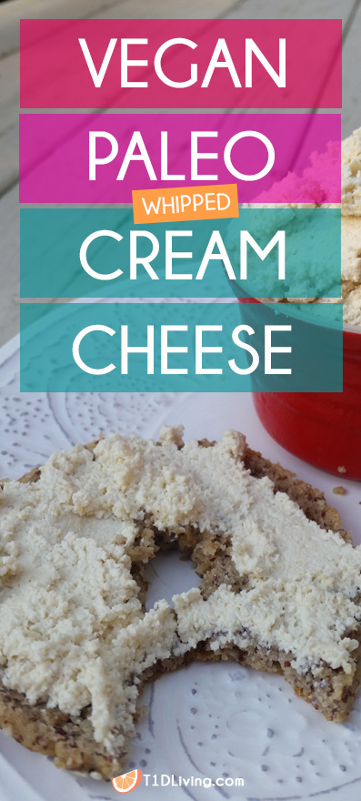 Vegan Paleo Cream Cheese Recipe pinterest