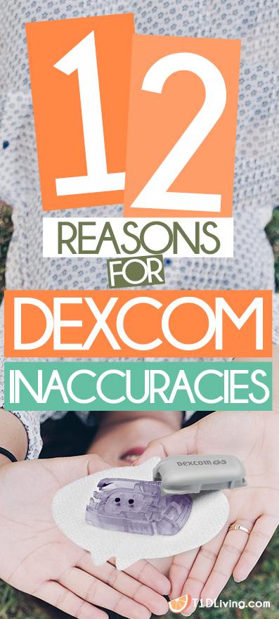 12-Reasons-for-Dexcom-Inaccuracies-Pinterest