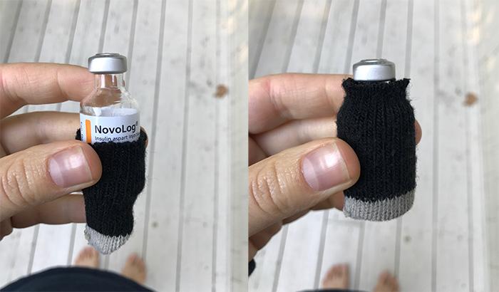 Friday Favorites 17 Vial Sock Insulin Glove