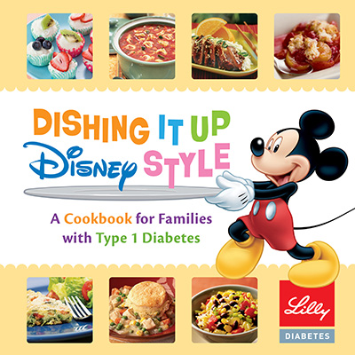 JDRF Walk Disney Diabetes Cookbook