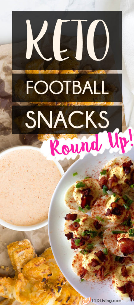 Keto Friendly Football food round up pinterest