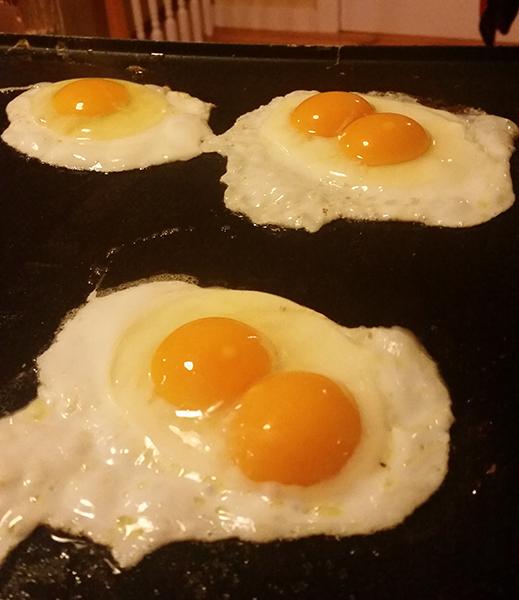 double yolks