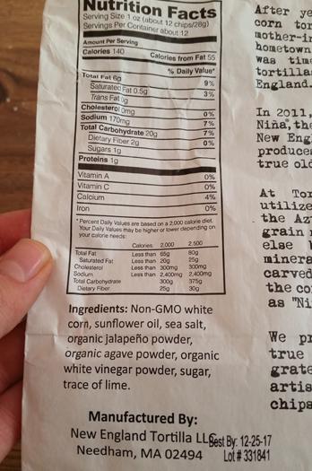 jalapeno agave chips back