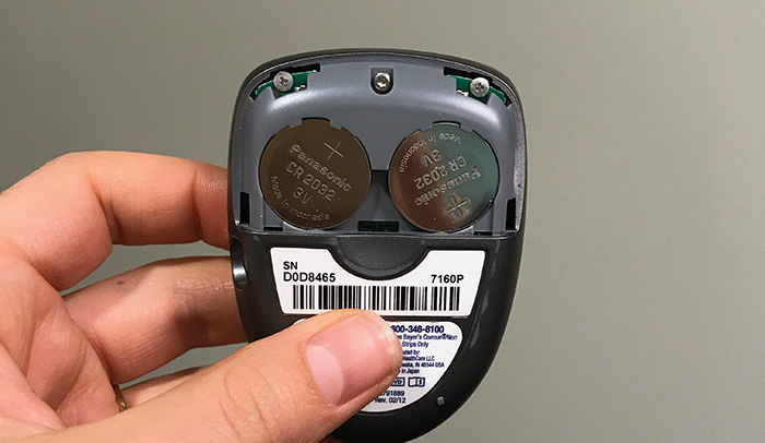 BG Meter Battery Opperated