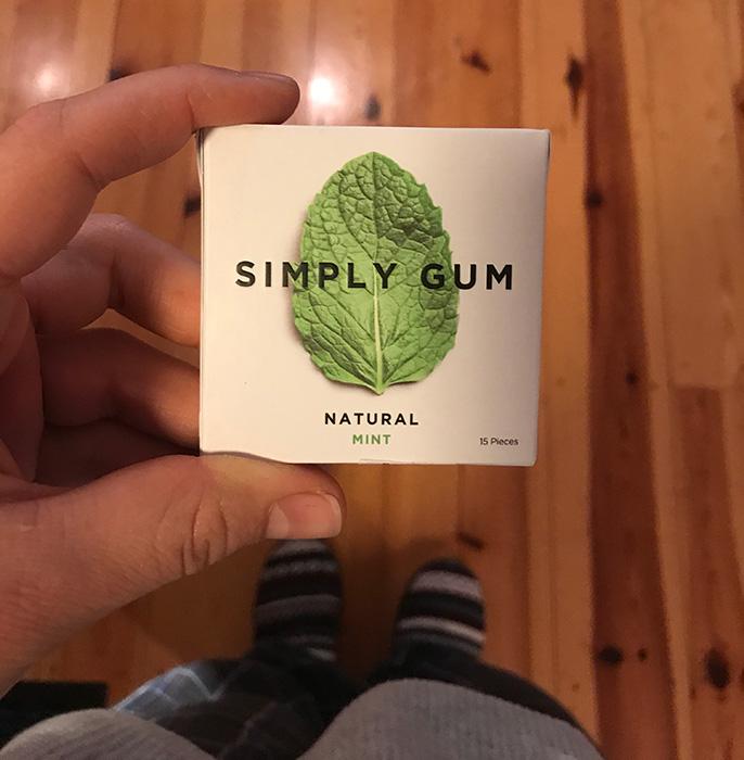 Friday Favorites Gum Front