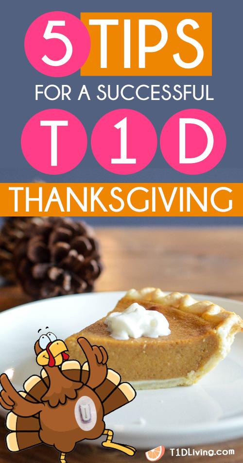 T1D Thanksgiving Tips Pinterest