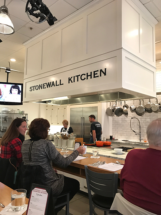 stonewall kitchen cooking class