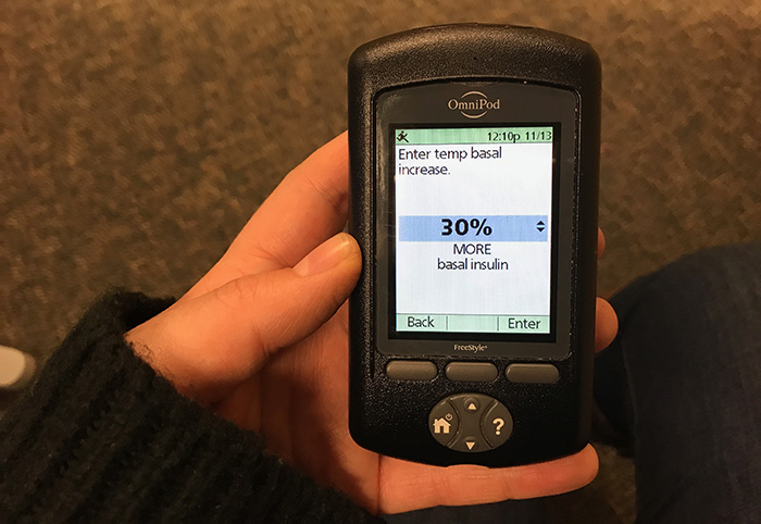 thanksgiving with t1d basal increase