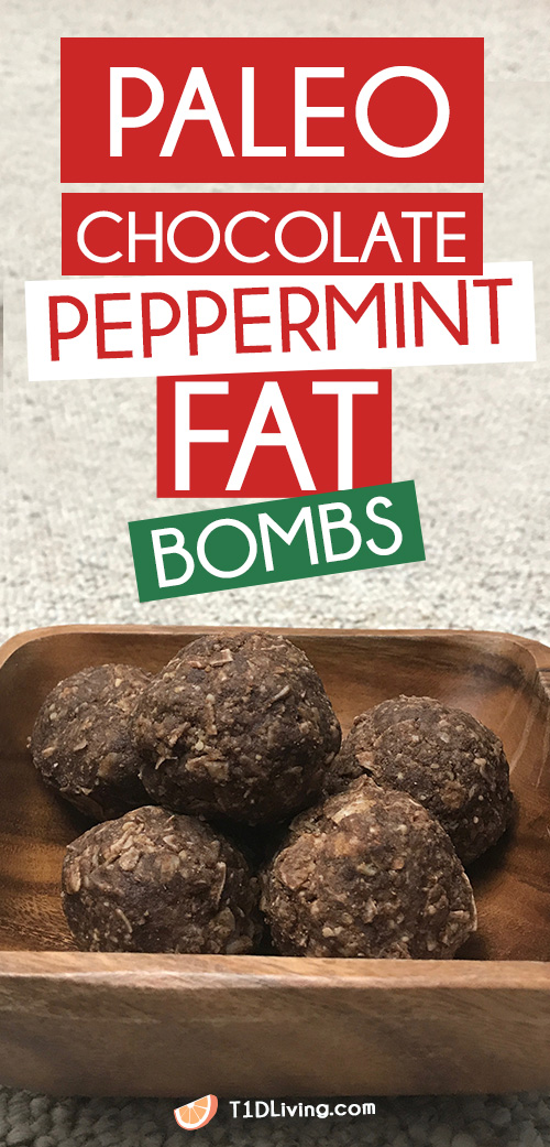Chocolate Peppermint Fat Bombs Pinterest