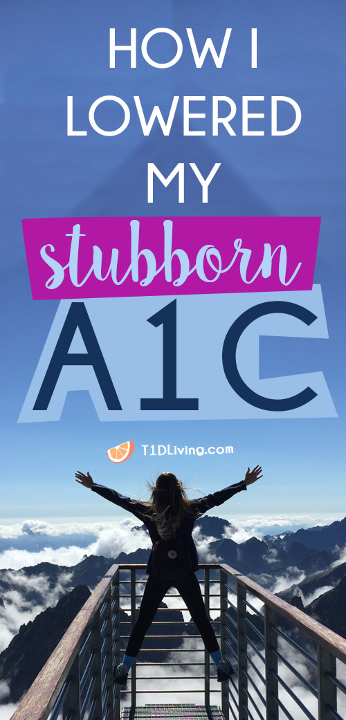 How I Lowered my A1C Pinterest