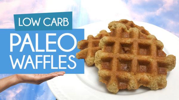 Low Carb Paleo Waffles Recipe