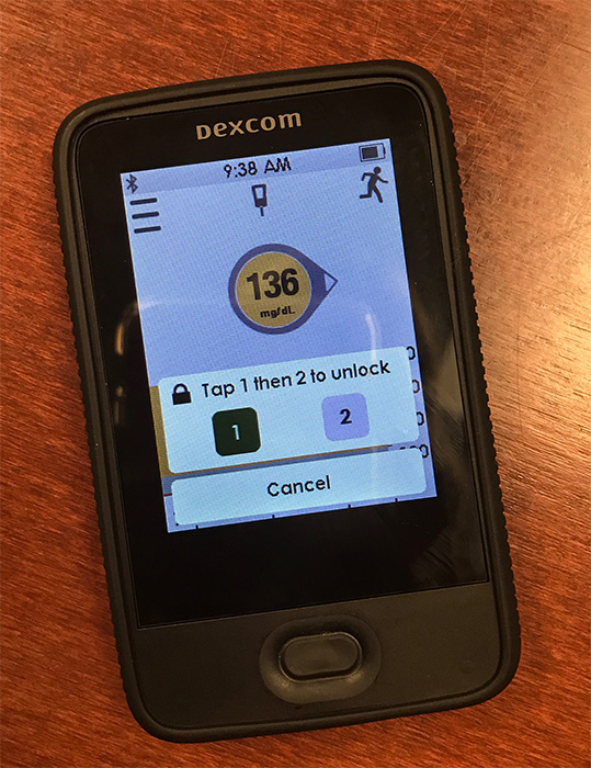 New Dexcom G5 Receiver Review on T1D Living Blog