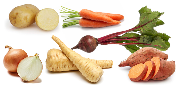 Higher Starch Veggies