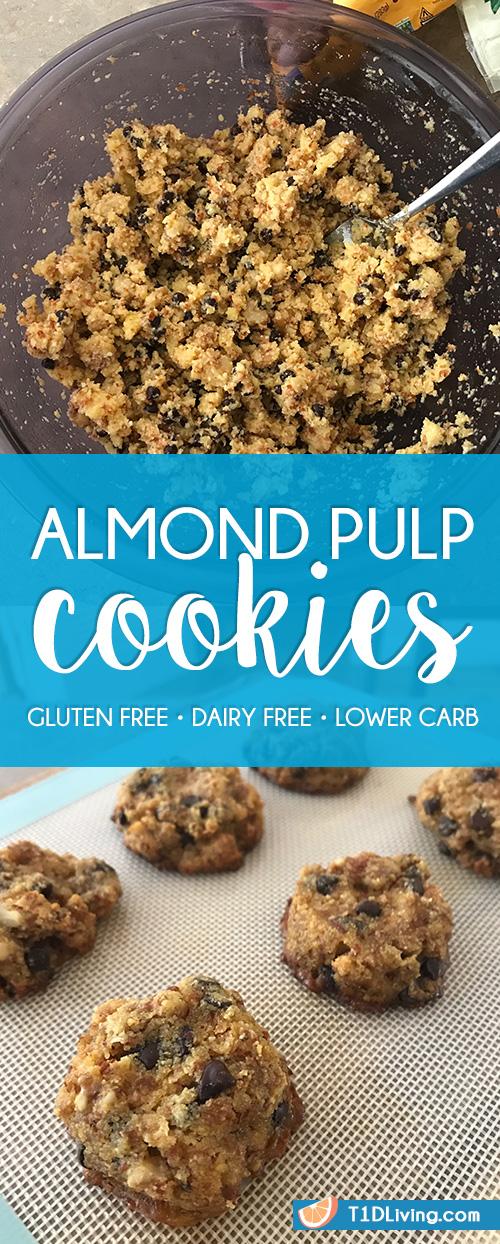 Almond Pulp Cookies Recipe Pinterest