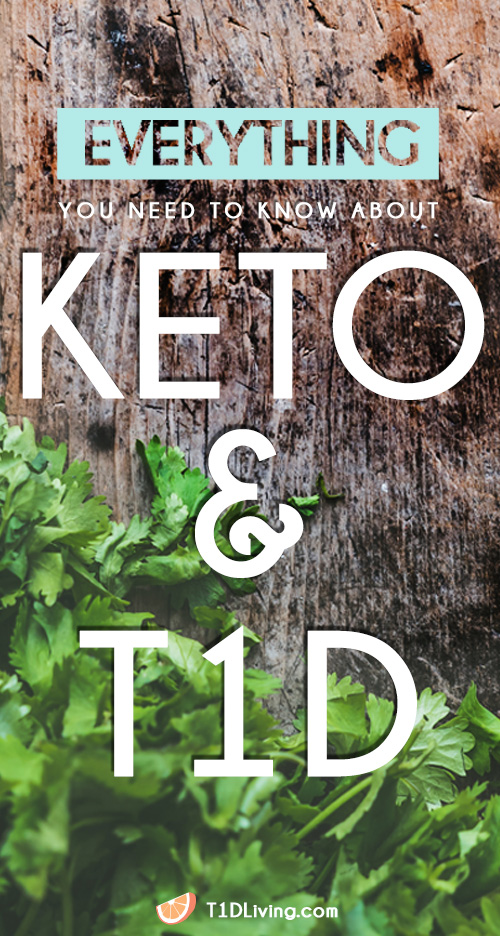 Keto and T1D Pinterest