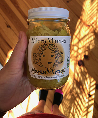 prenatal supplements sauerkraut