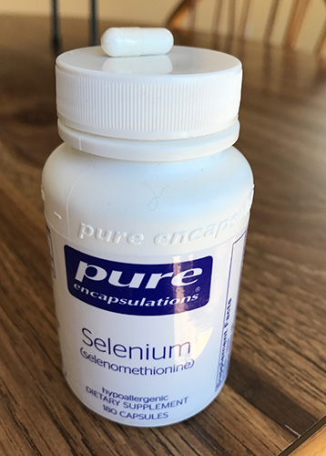 prenatal supplements selenium