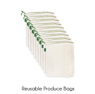 zero waste reusable produce bag