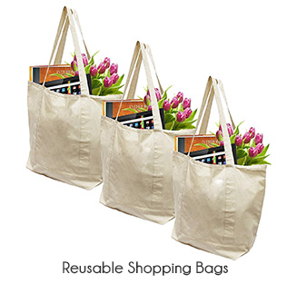 zero waste reusable shopping bag