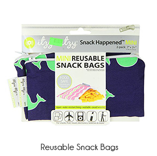 zero waste reusable snack bag