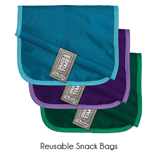 zero waste reusable snack pouch