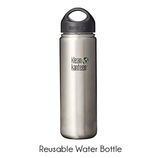 zero waste reusable water bottle