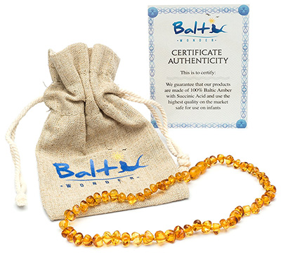 natural baby registry amber teething necklace