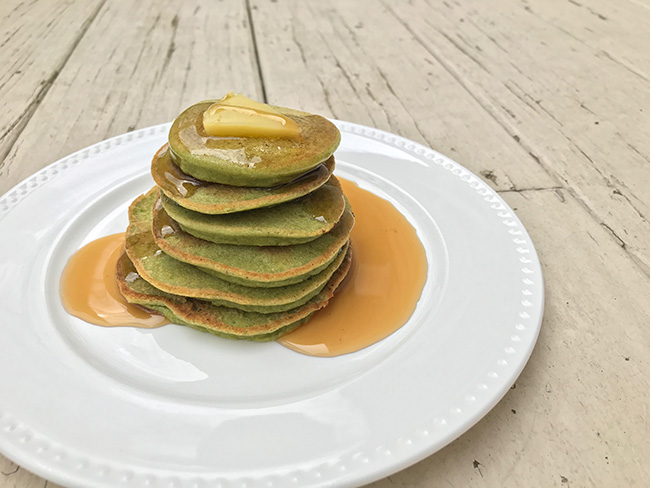 spinach blender pancake recipe