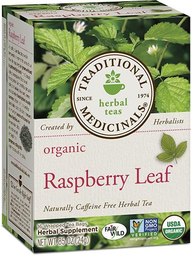 Friday Favorites Red Raspberry Leaf Tea