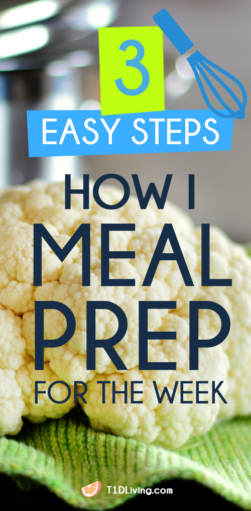 How I Meal Prep For The Week Pinterest