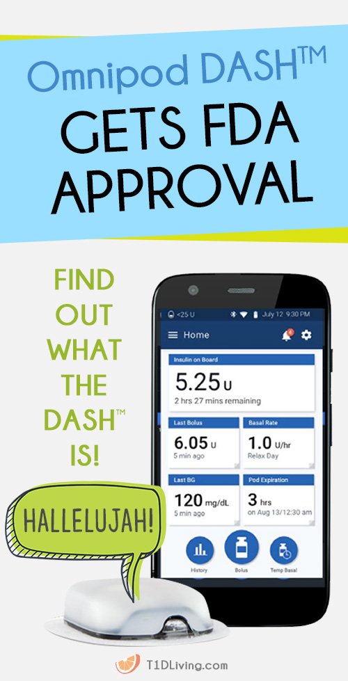 Omnipod DASH Gets FDA Approval Pinterest