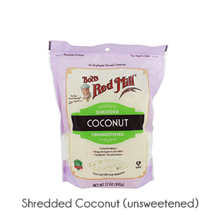 Shop Nutrition shredded coconut