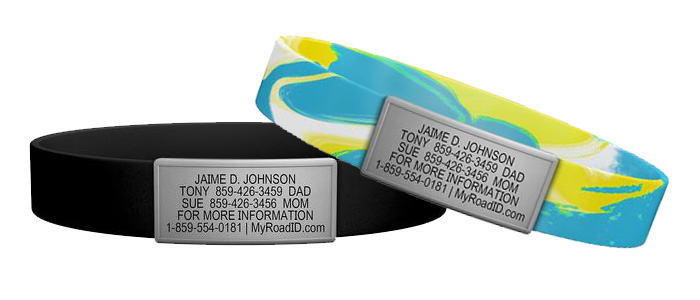 athletic medical alert id for your style roadID