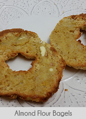 low carb breakfast ideas almond flour bagels
