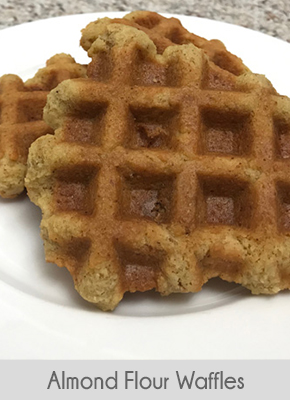 low carb breakfast ideas almond flour waffles