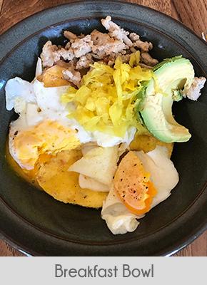 Low Carb Breakfast Ideas Breakfast Bowl T1d Living